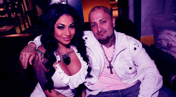 Image of Brittanya Razavi with her husband Lucky Moe Razavi