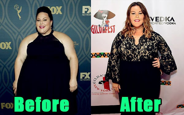 Image of Chrissy Metz weight loss before and after
