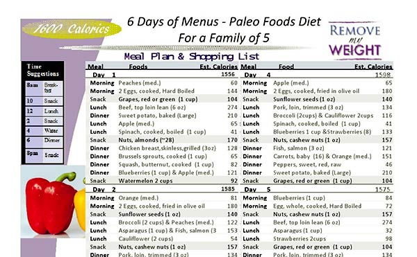 Image of Dr Nowzaradan Weight Loss Menu