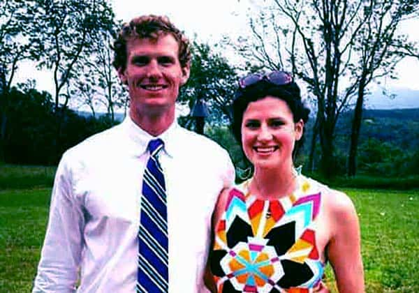 Image of Grayson Goldsmith with her husband Garrett Hollingsworth