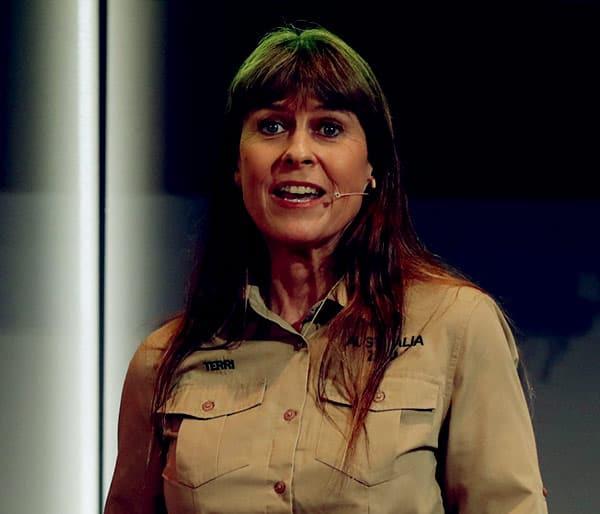 Image of TV Personality, Terri Irwin net worth is $66 million