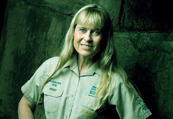 Image of American-Australian naturalist, Terri Irwin