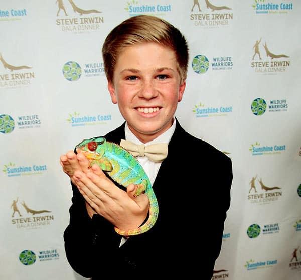 Image of Steve Irwin son Robert Clarence Irwin