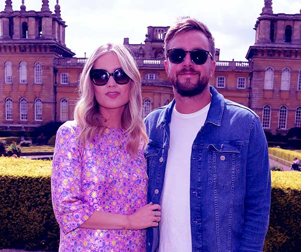 Image of Iain Stirling with his girlfriend Laura Whitmore