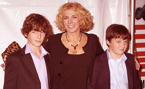 Image of Liam late wife Natasha and kids Michael and Daniel