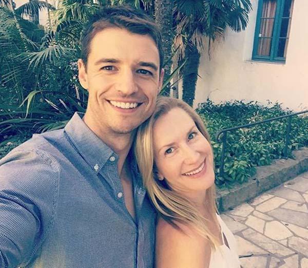 Image of Angela and her husband Joshua net worth