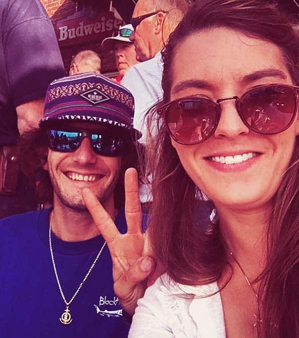 Image of Marissa McLaughlin with her brother Tyler McLaughlin